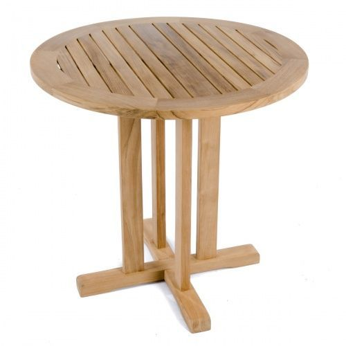 Inch Round Bistro Table Comm Westminster Teak Outdoor - 30 inch round outdoor table