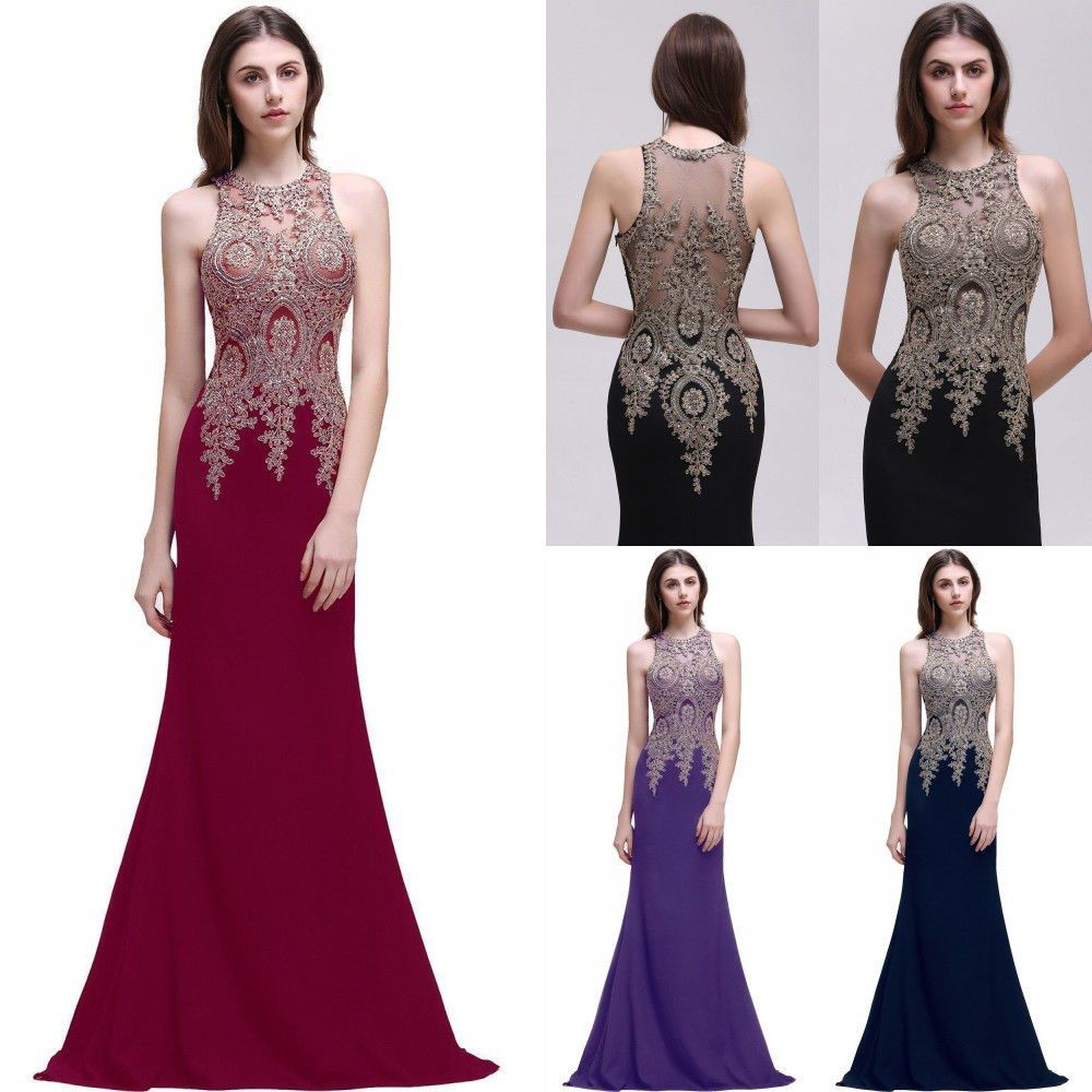 Awesome amazing new long evening dress prom dresses formal party