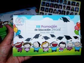 Tarjeta De Invitación A Promoción De Educación Inicial