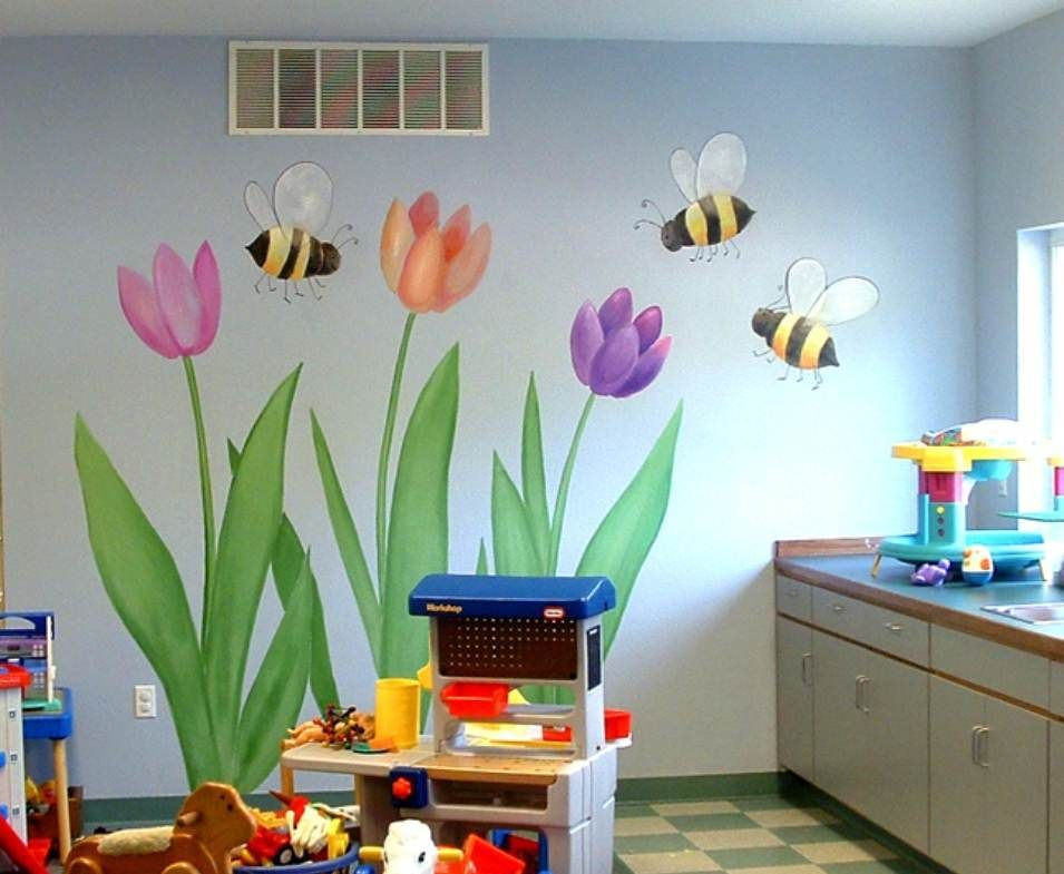 Church nursery decorating ideas decore for you Nursery wall ideas