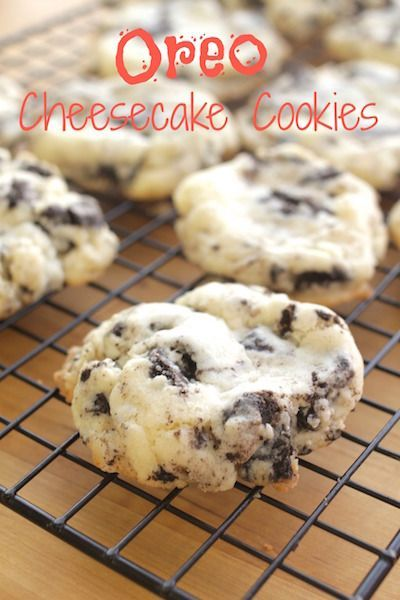 Oreo Cheesecake Cookies  Recipes