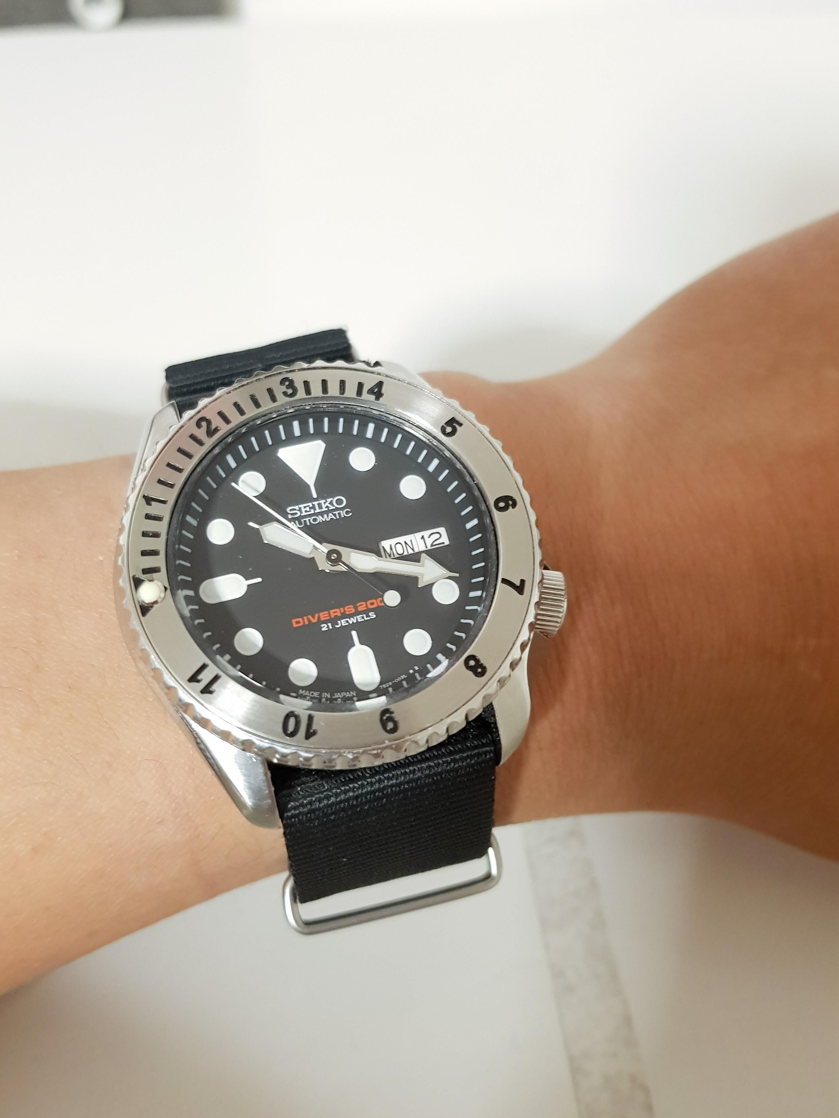 Seiko] SKX007 modded with steel GMT bezel | Watches in 2019 | Seiko