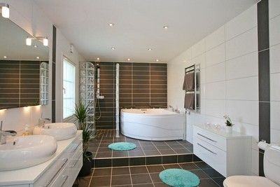 Badrum tvättstuga badrum : The block, Bathroom and Places on Pinterest