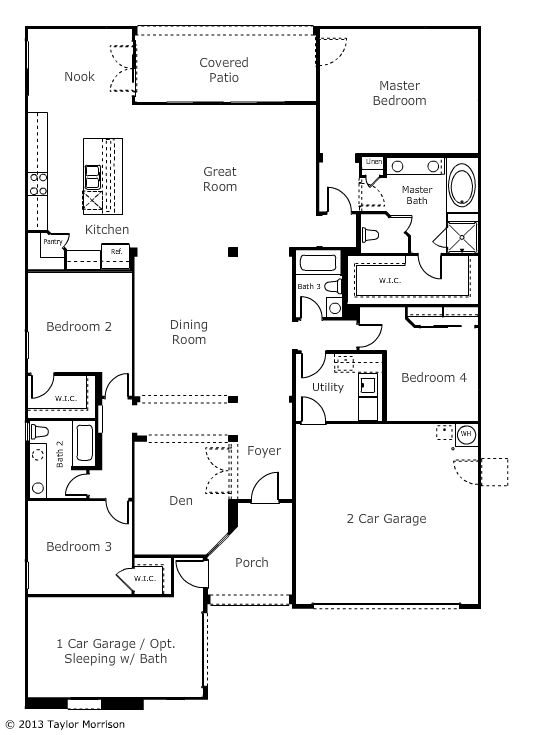 The spacious adelaide at ironwood ridge in peoria offers for Garage flooring adelaide