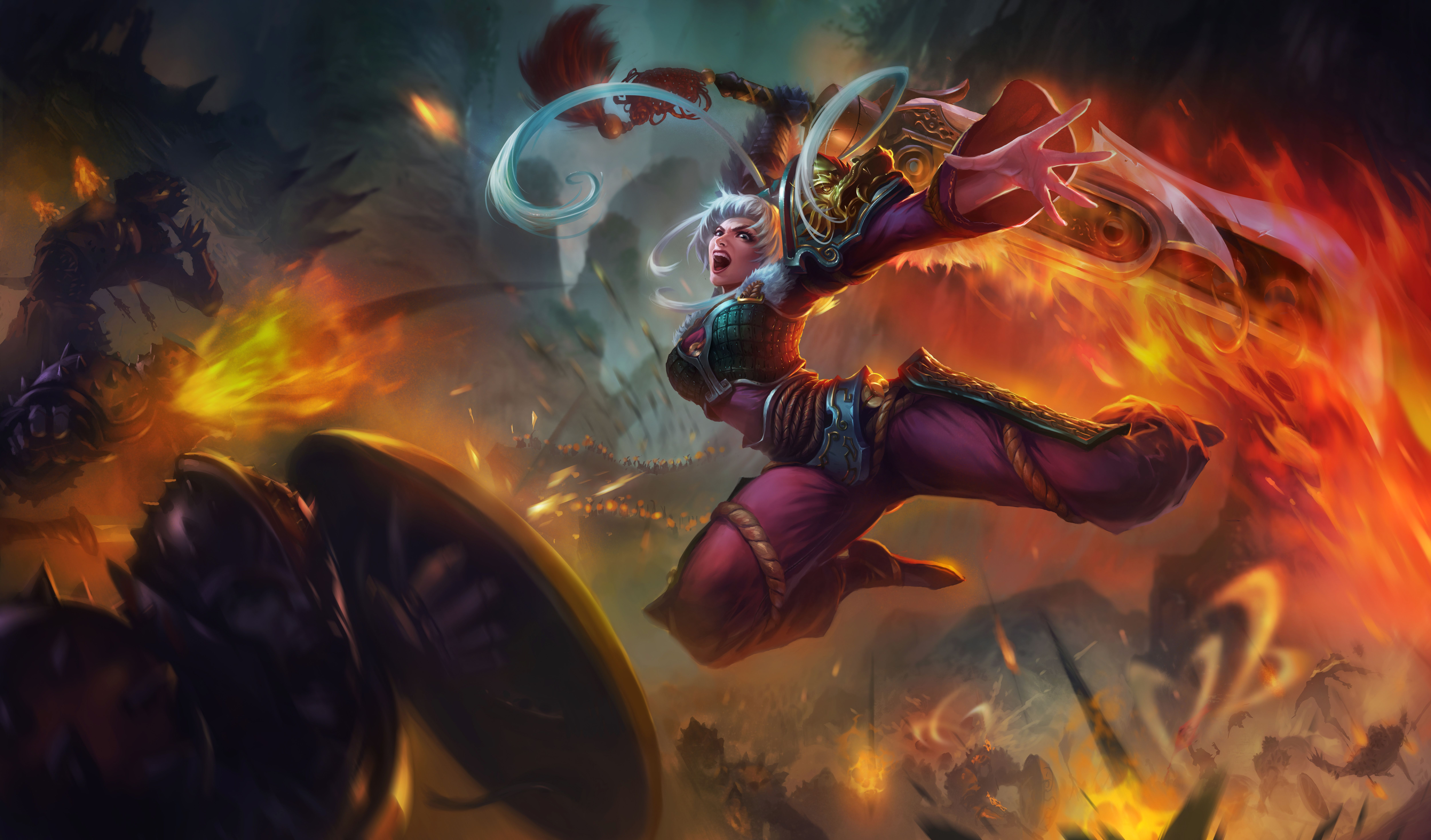 League Of Legends Championship Riven Wallpapers Hd Resolution Jllsly