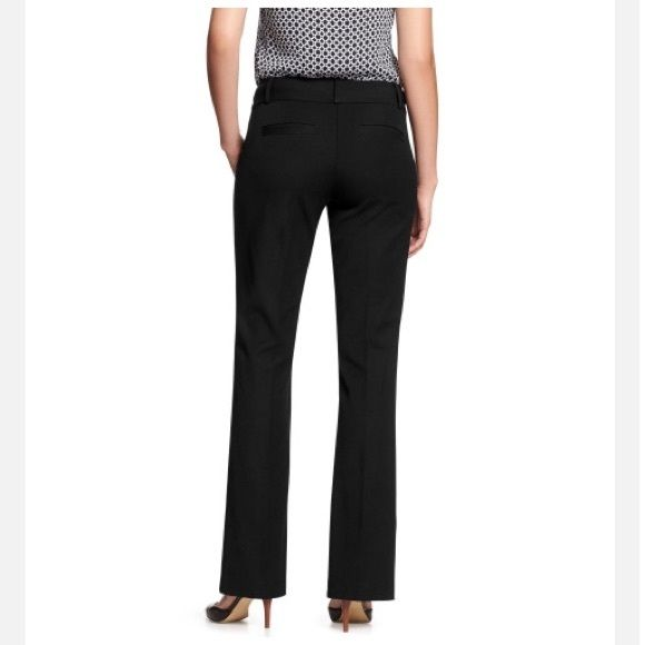 """♥️SALE♥️EUC Banana Republic Jackson Fit Pants Banana Republic Jackson Fit Pants in black. Has buttons and zipper closure, two small front pockets and two back pockets not unseamed yet, stretch fabric. Inseam of 32.5"""" Excellent unused condition. Banana Republic Pants"""