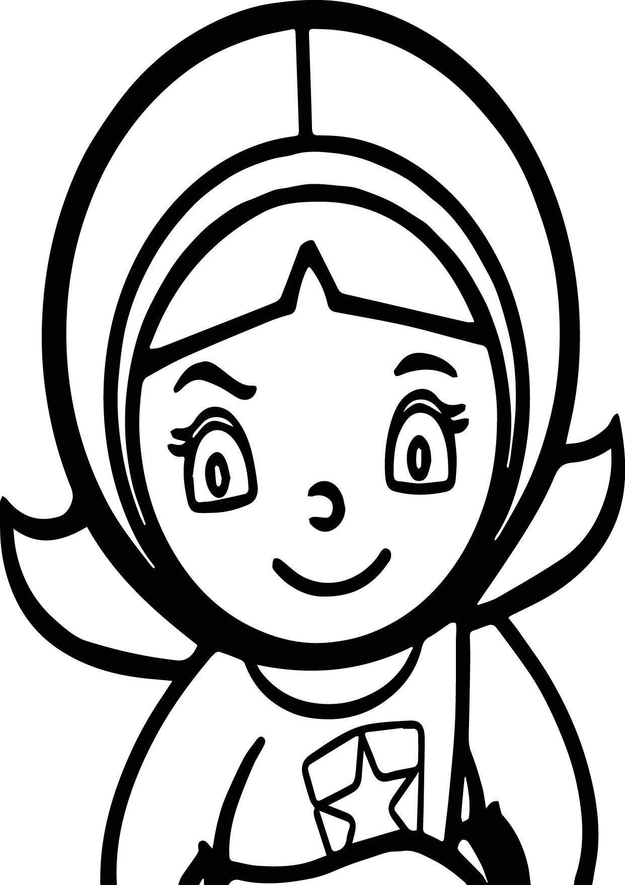 Nice Word Girl Pbs Kids Coloring Page Wecoloringpage