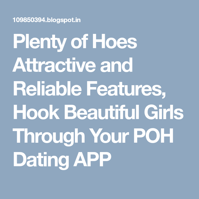 What is plenty of hoes