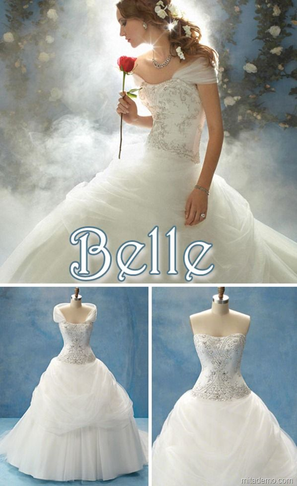 disney-belle-wedding-gown-alfred-angeloPRENSES GELİNLİKLERİ ...