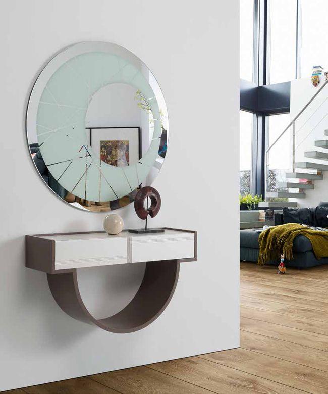 Espejo de calidad espejo de cristal espejo bicolor for Espejos circulares decorativos