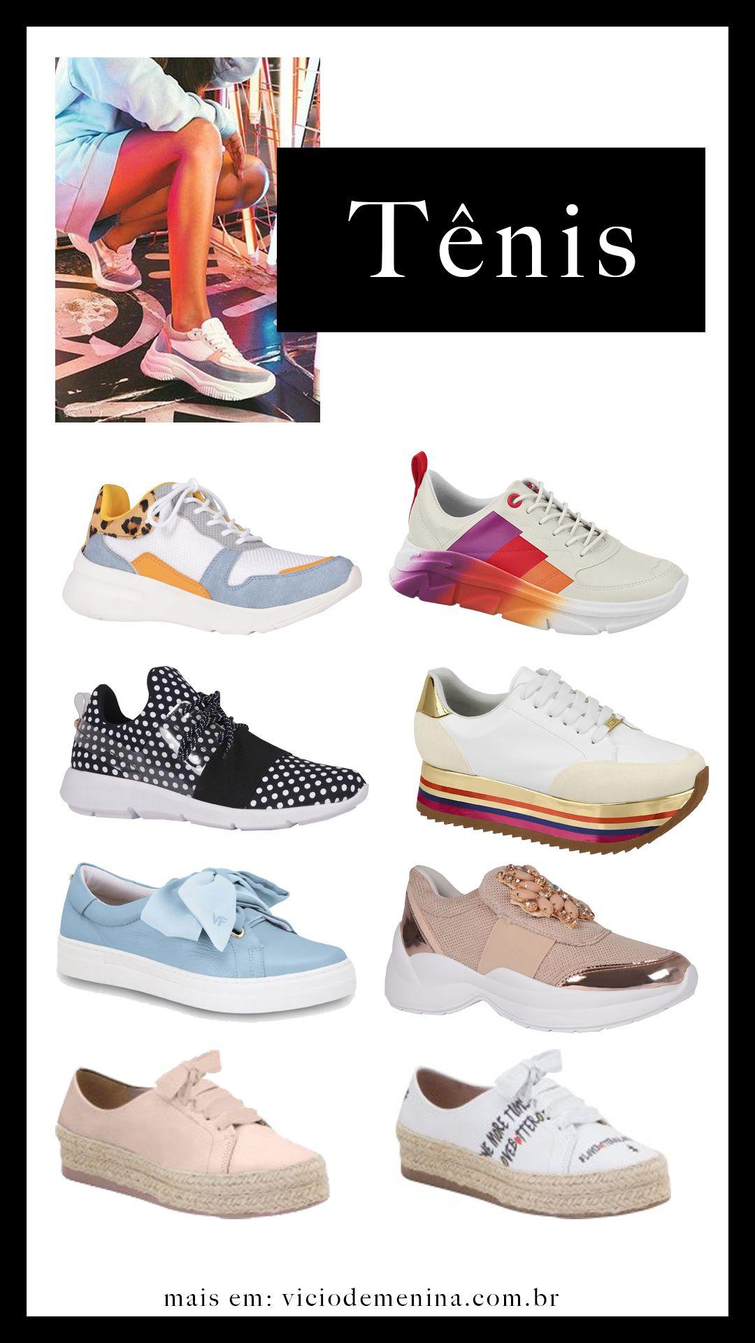 0ed161b3375 Tênis e sapatos femininos que serão tendência na primavera e verão 2019