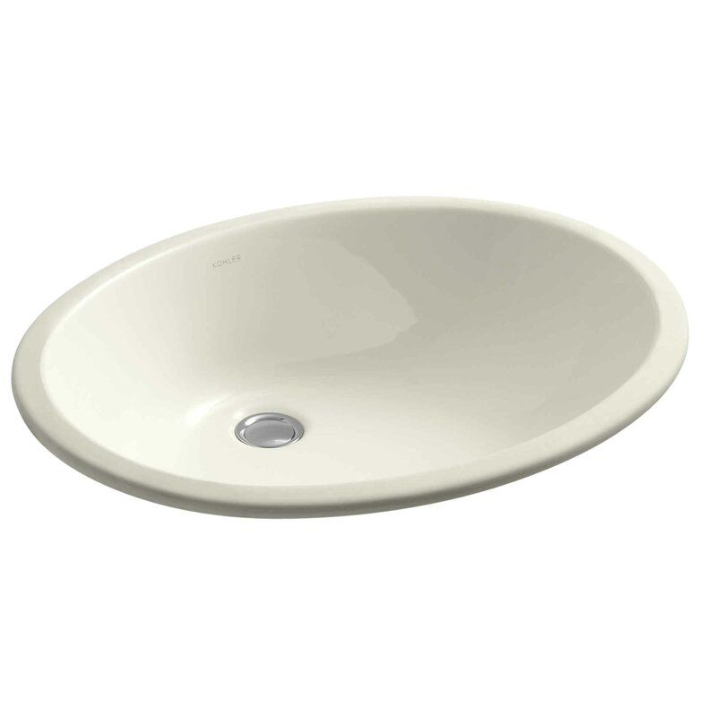 Caxton Ceramic Oval Undermount Bathroom