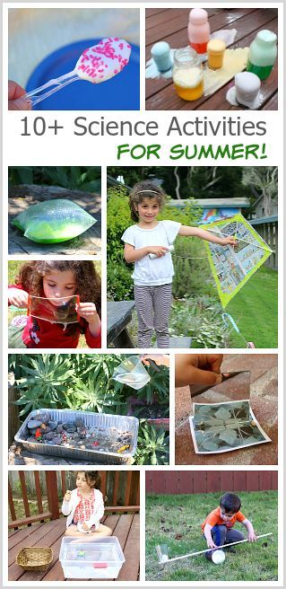 10+ Hands-on Science Activities for Kids Perfect for Summer - Buggy and Buddy