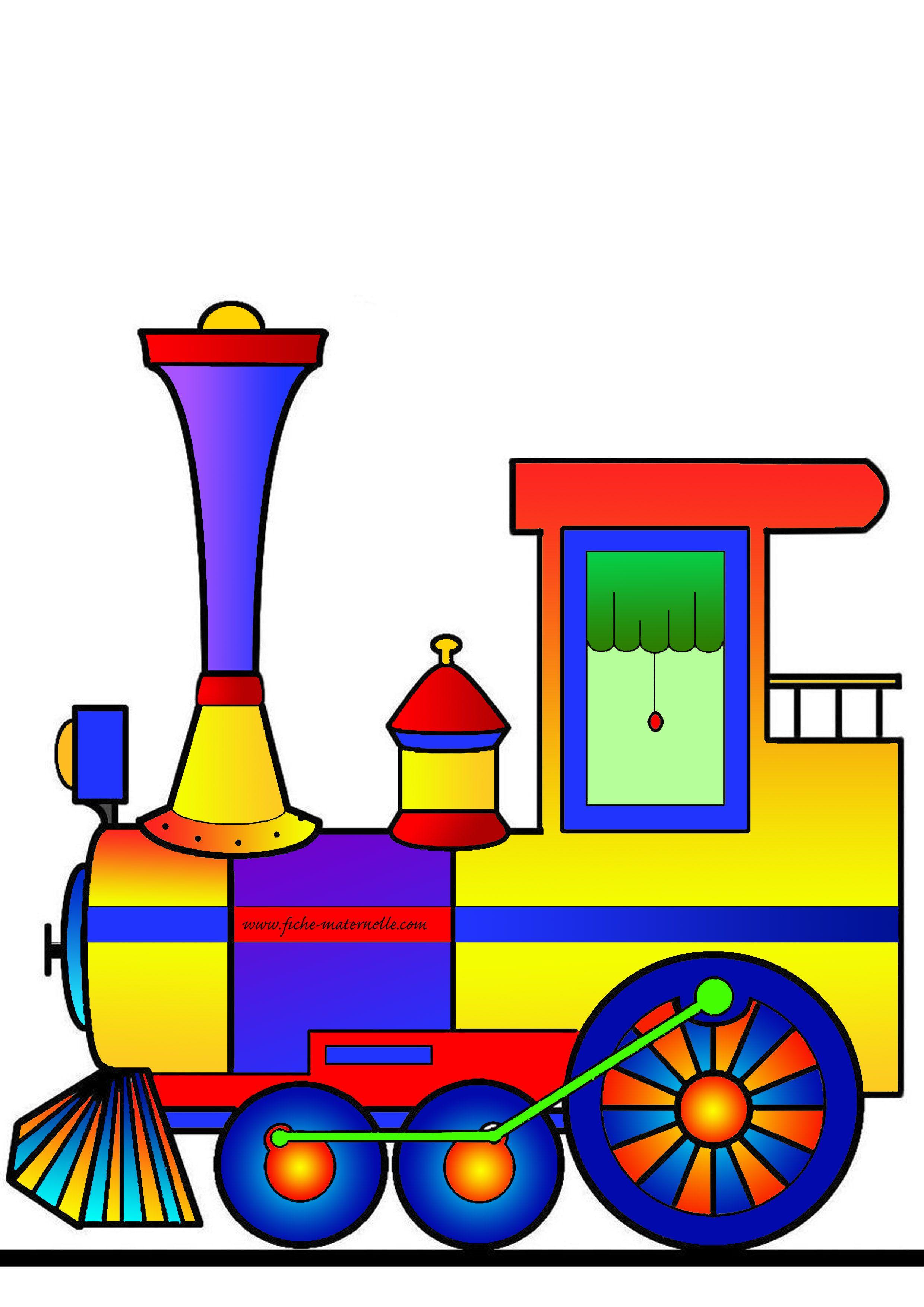 Affichage pour la classe maternelle train des anniversaires en couleur