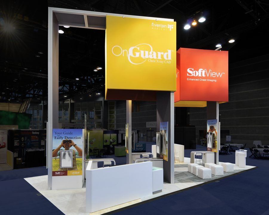 This trade show booth won the 2010 Best of MOD Award while helping
