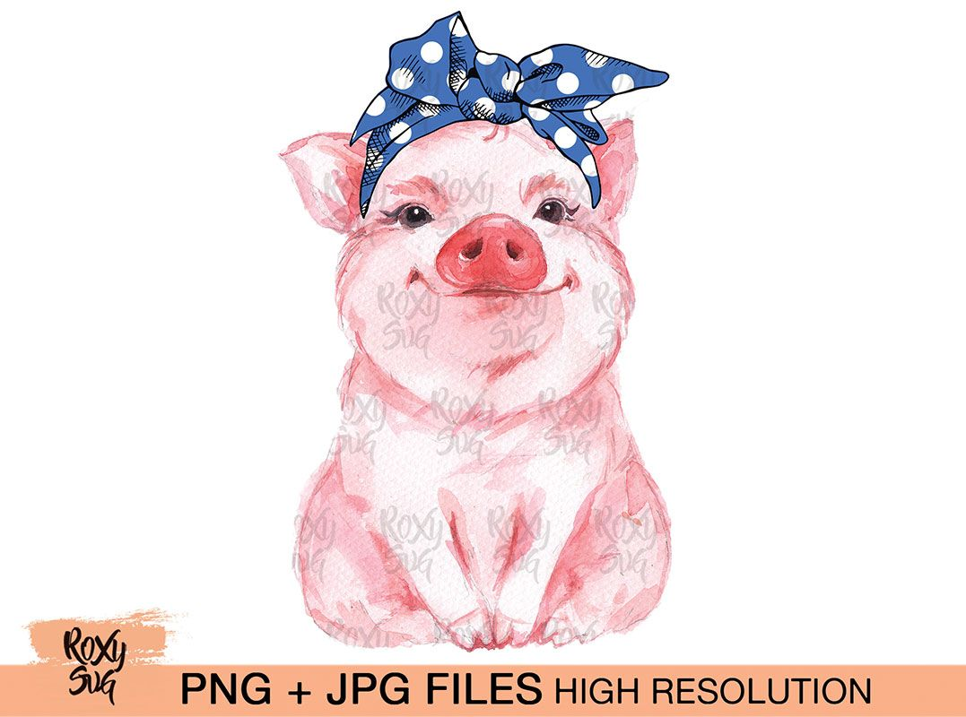 Download Free Svg Funny Farm Pig Cut File File For Cricut
