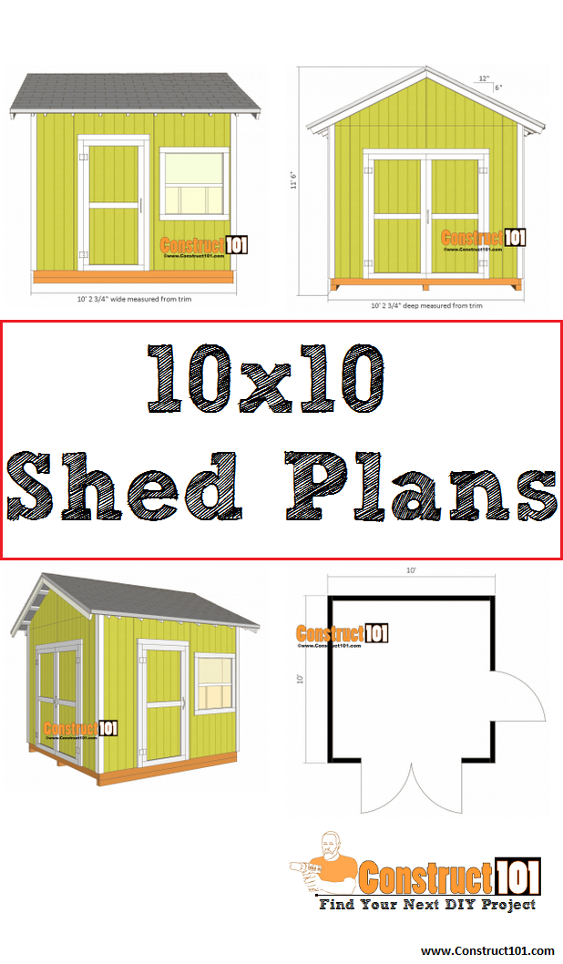 Free Shed Plans With Drawings Material List Free Pdf Download Shed Plans Free Shed Plans Storage Shed Plans