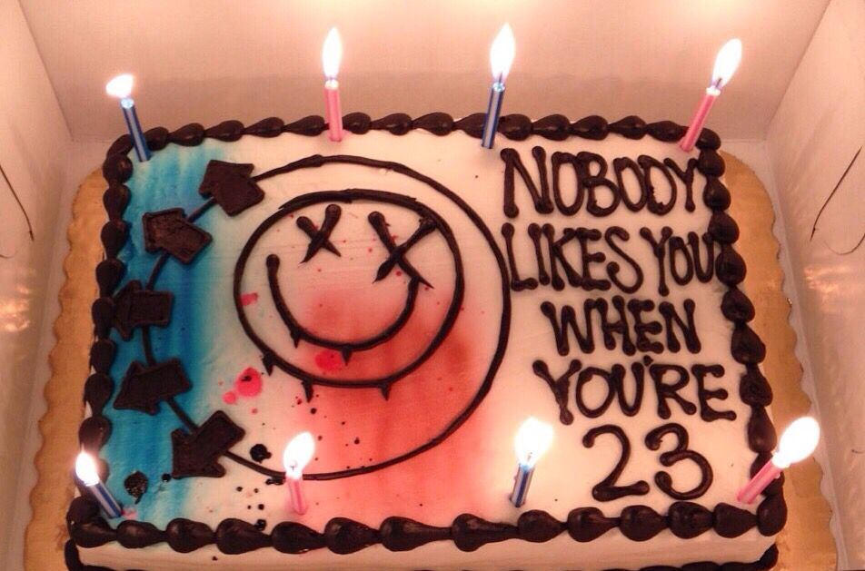 Blink 182 Cake Funny Birthday Cakes Blink 182 Cake 23