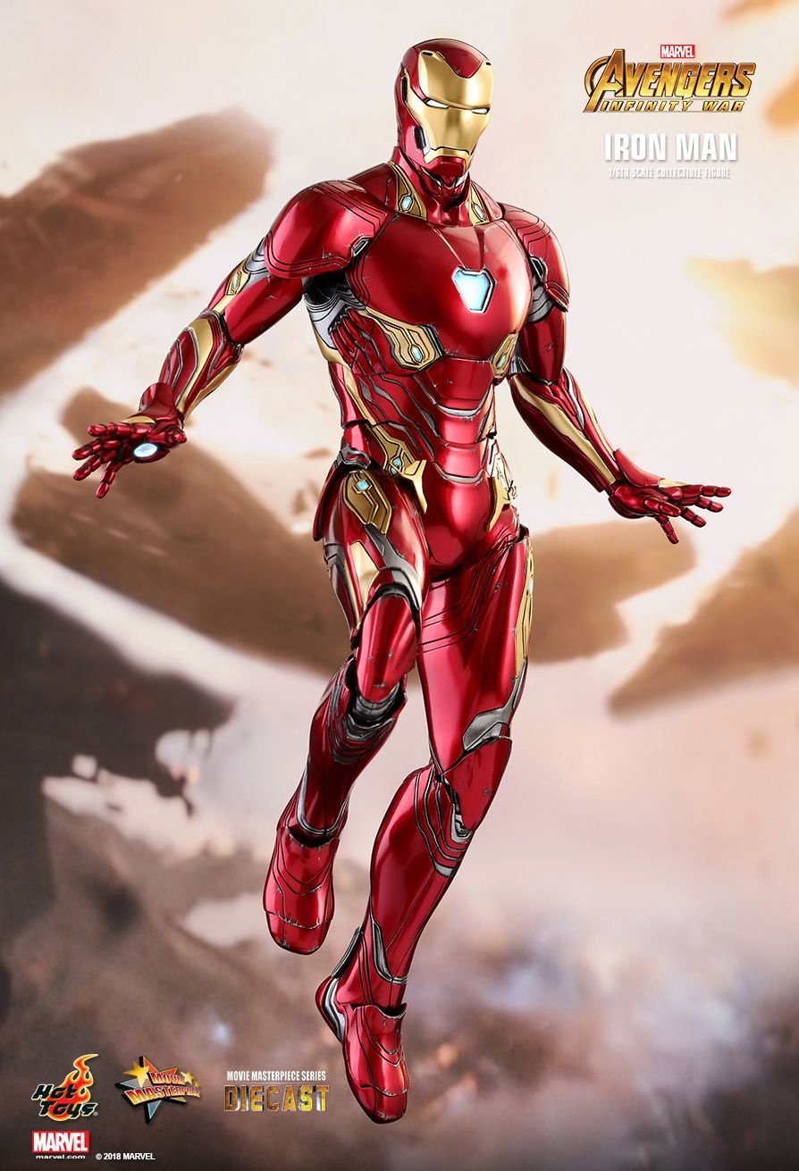 avengers: infinity wars - ironman mark 50hot toys. | concept art