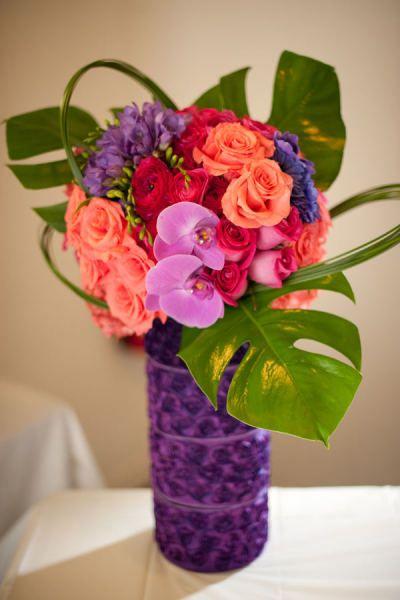 Modern La Jolla Wedding by Sarah K Chen Photography Flower - küchen modern design