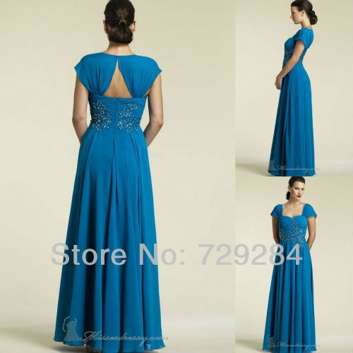 Sweetheart With Straps Chiffon Pleat Mother Of The Groom