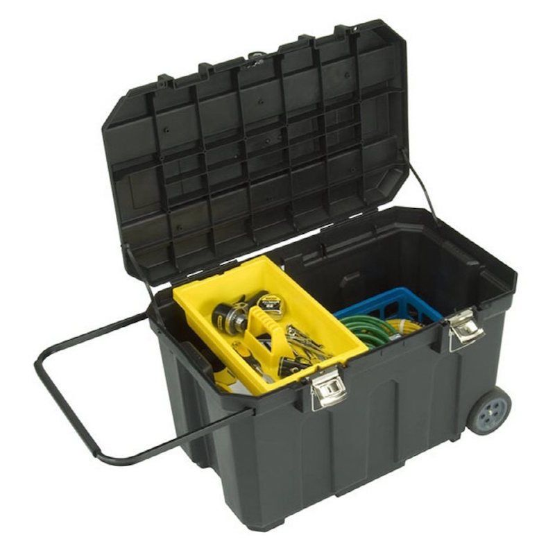 Camping Gear Storage Box Large 50 Gallon Hunting Portable Tote Chest