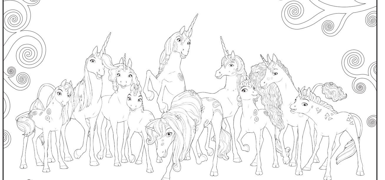 Mia And Me Free Coloring Page Mia Yuko Mo And Onchao 1 Hd Walls Find Wallpapers Coloring Pages Free Coloring Pages Animal Coloring Pages