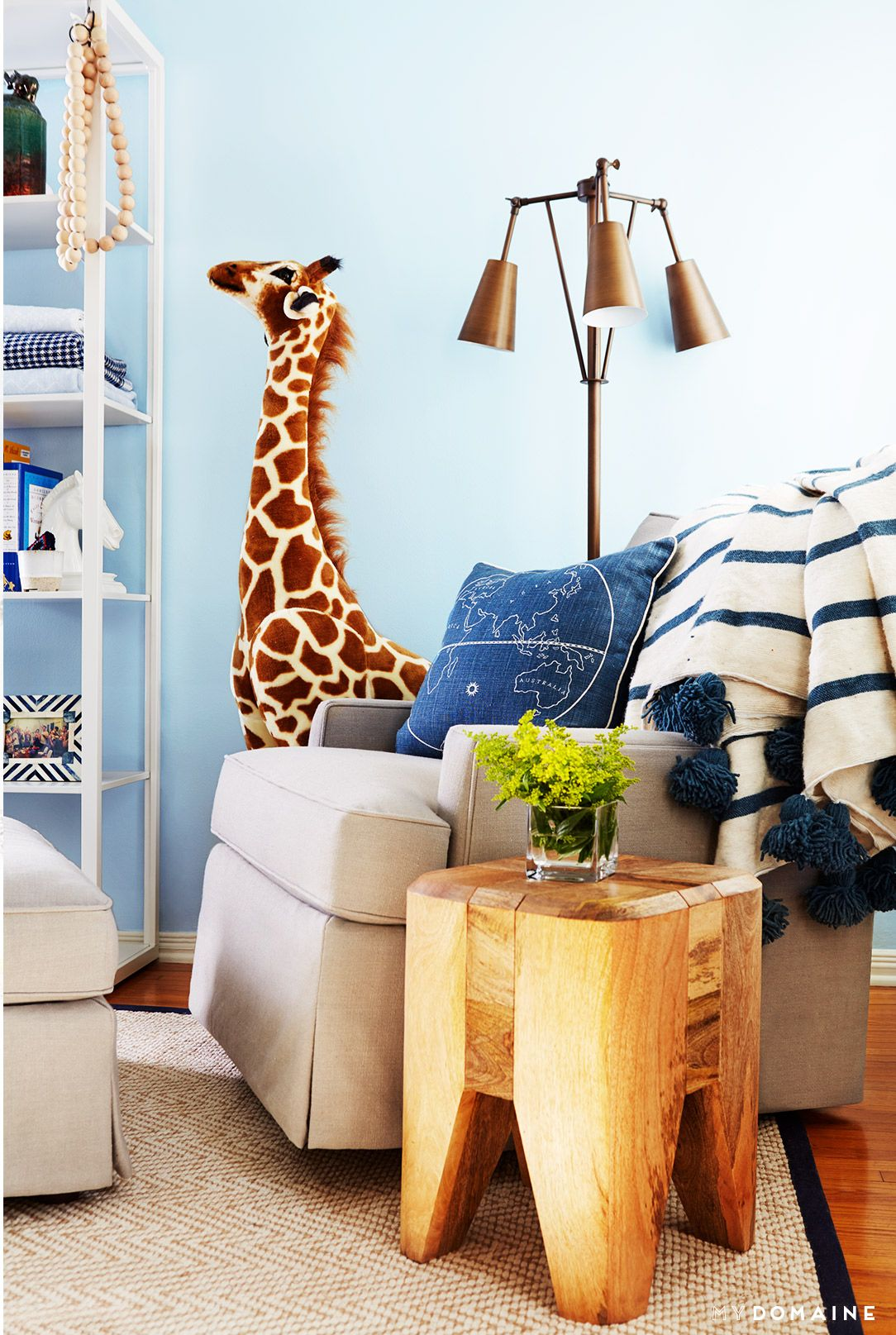 Tour A Sophisticated And Playful L A Nursery Children S Rooms