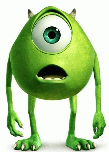 mike wazowski monsters inc characters i love pinterest