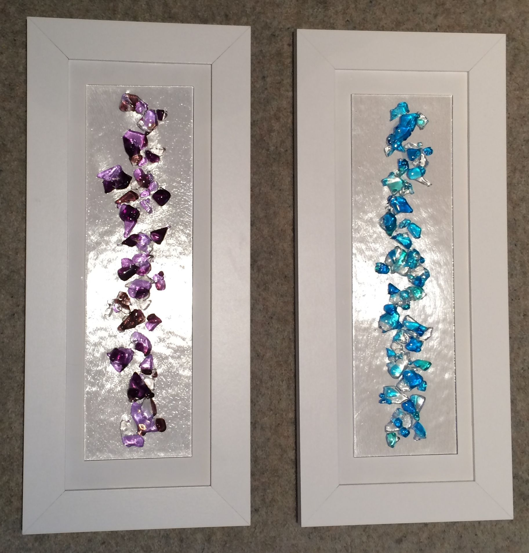 Wall Art Fused Glass : Lola s little glass studio fused art home page i
