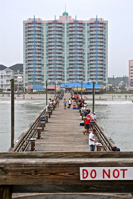 The Cherry Grove Pier Is The Ideal Place To Enjoy The