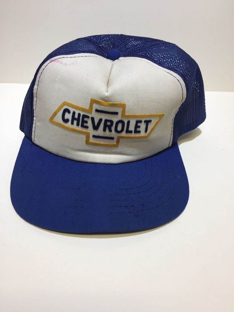 Vintage Chevrolet Trucker Hat  fashion  clothing  shoes  accessories   mensaccessories  hats (ebay link) 9767db069d9c