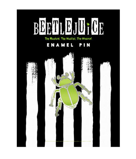 Beetlejuice the Broadway Musical Enamel Pin in 2020