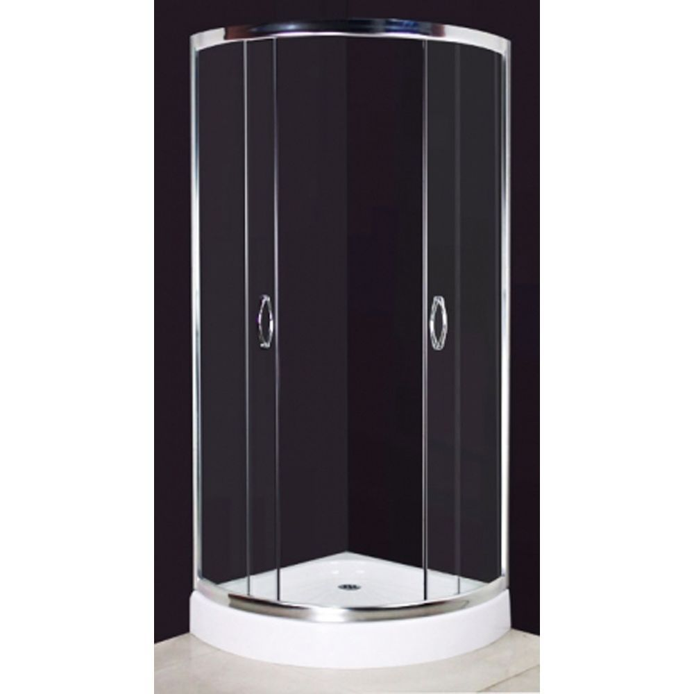 New 190x80cm Shower Cabin Enclosure Cubicle Quadrant Bathroom Screen ...