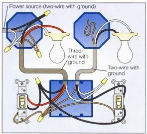 2way Switch with Lights Wiring Diagram | good to know in