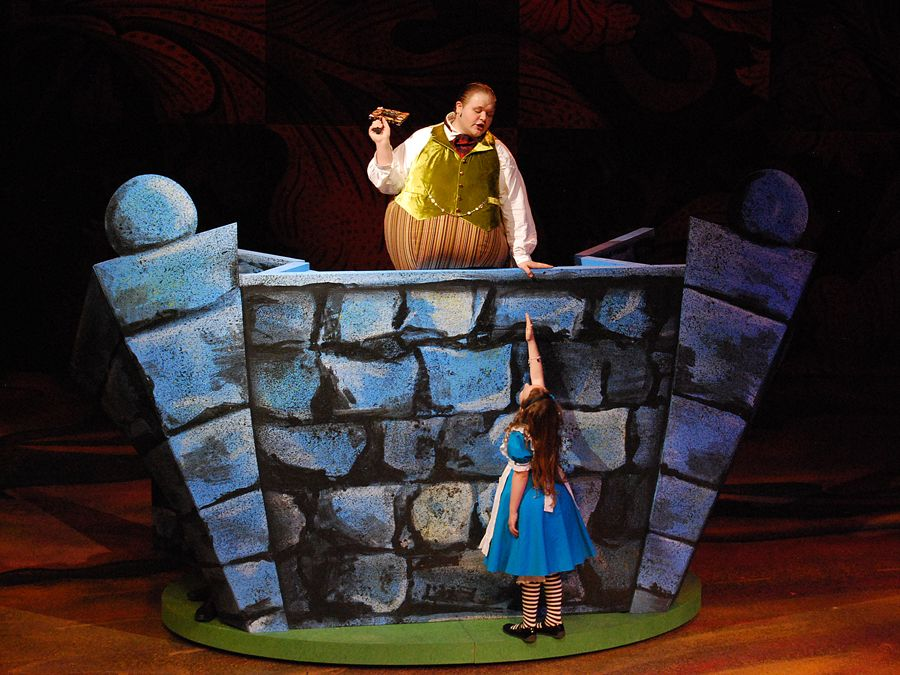 Alice In Wonderland Set Design Ideas Humpty Dumpty S Adventures Birmingham Children