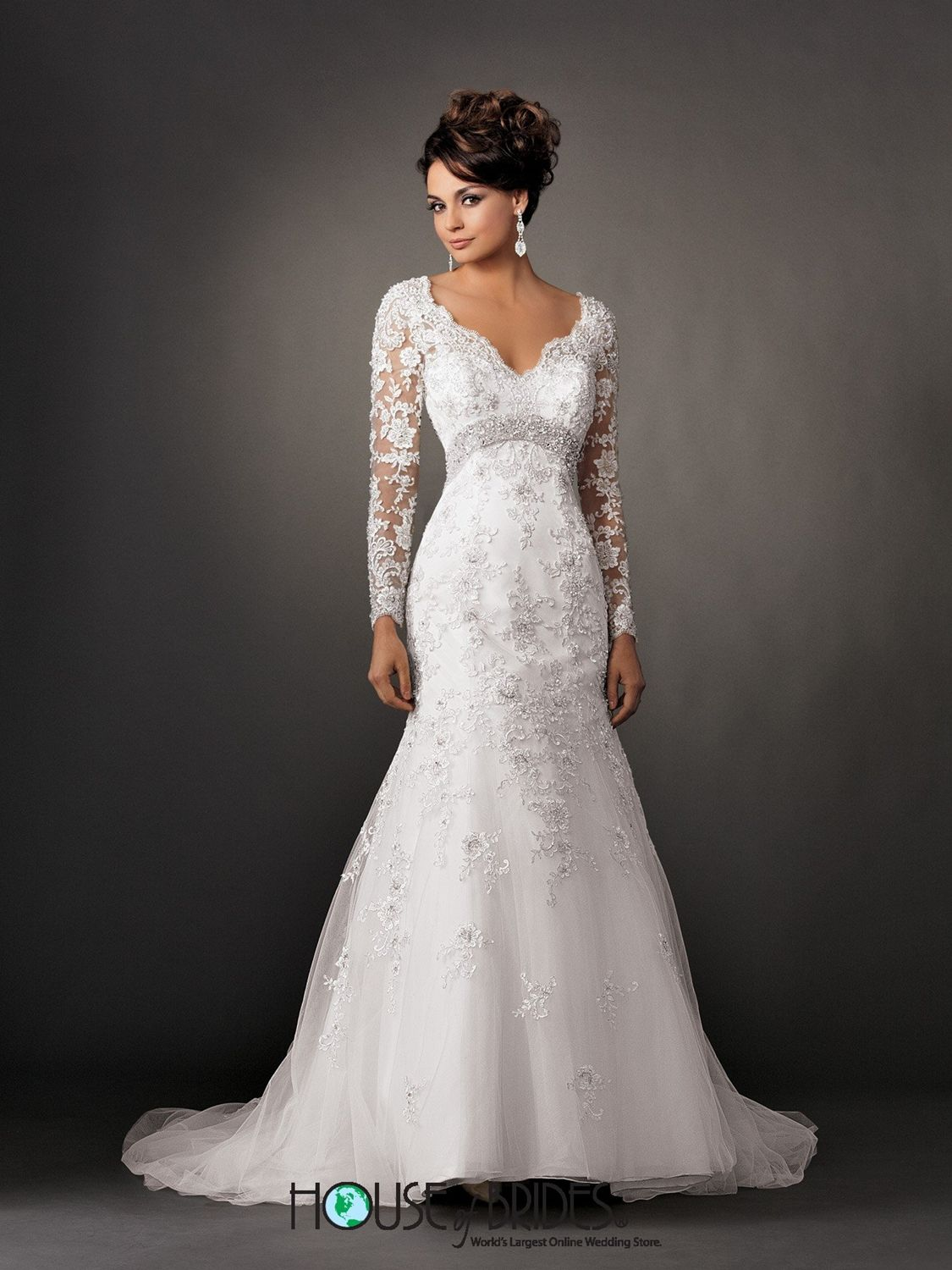 Reflections by jordan wedding dress style m house of brides
