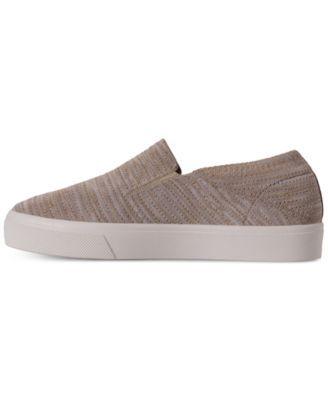 9a5ab6fb8686 Skechers Women s Street Poppy Blurred Lines Slip-On Casual Sneakers from  Finish Line - Tan Beige 9.5