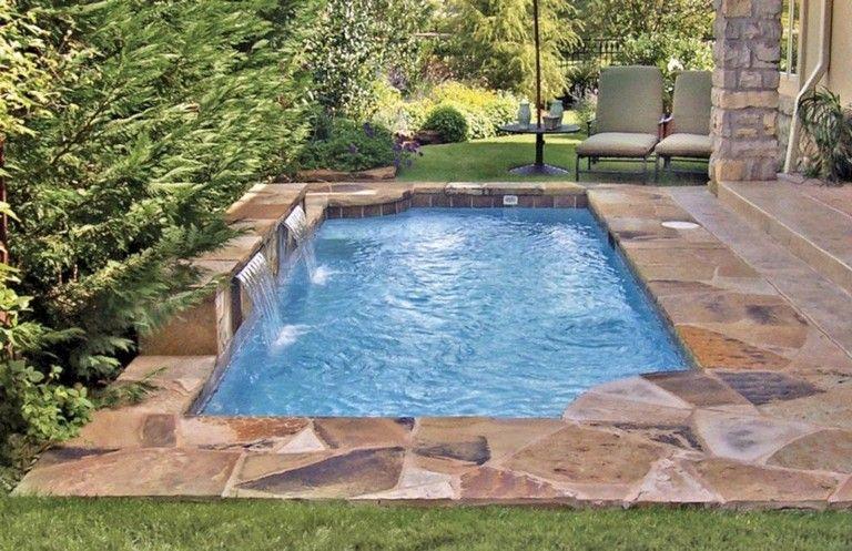 31 Awesome Roman Grecian Swimming Pool Design Ideas Swimmingpools Swimmingpooldesign P Backyard Pool Designs Backyard Pool Landscaping Small Backyard Pools