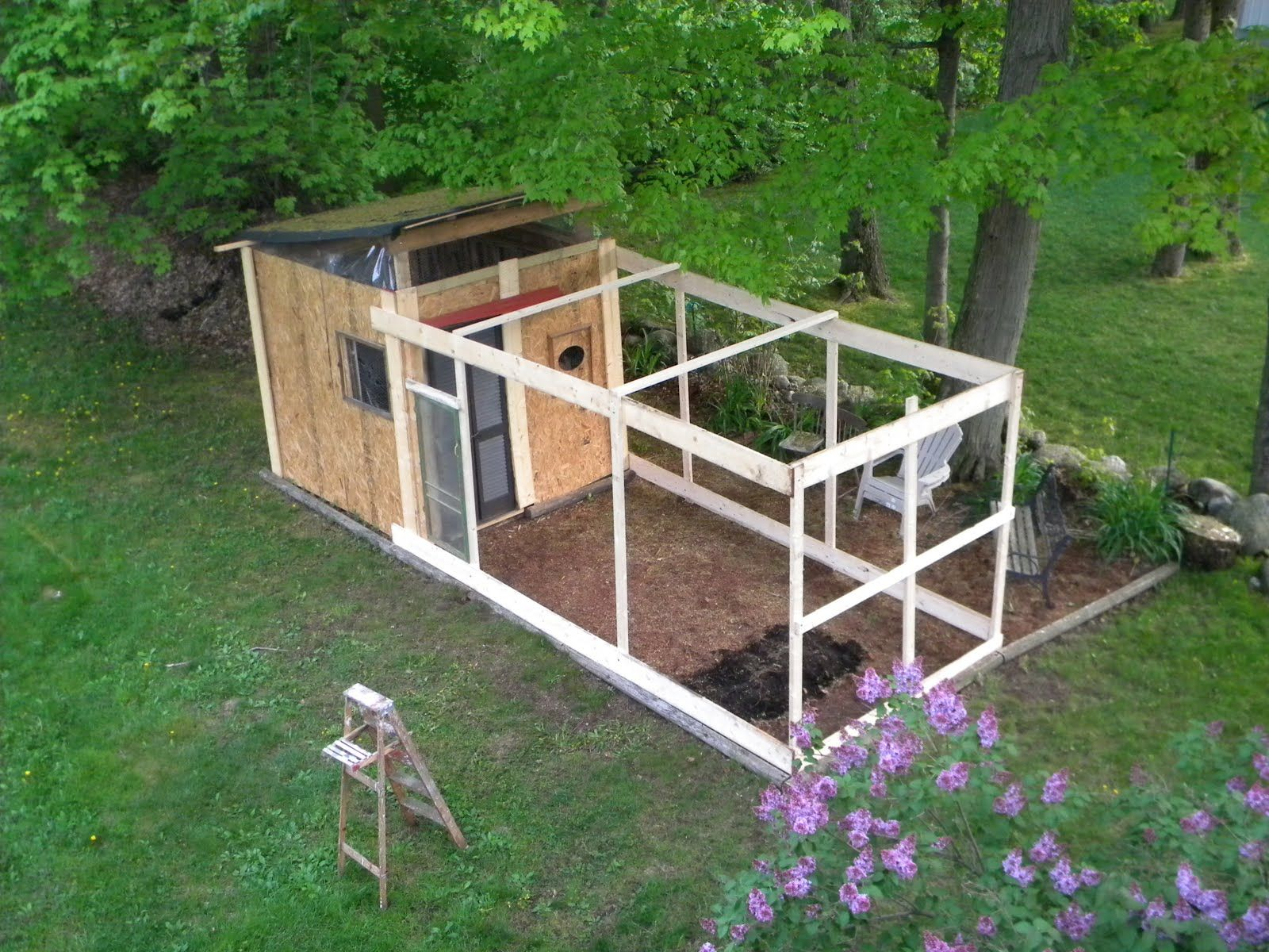 building plans for pallet chicken coops if you have any