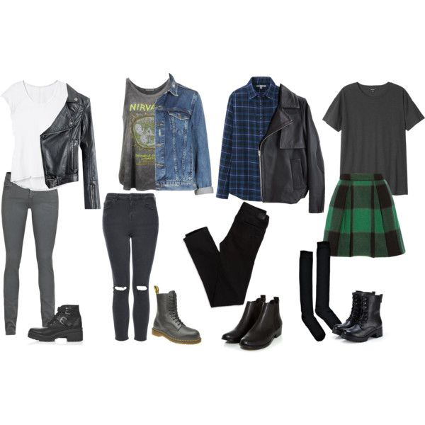Back To School Rock Inspired Outfits Fashion Files