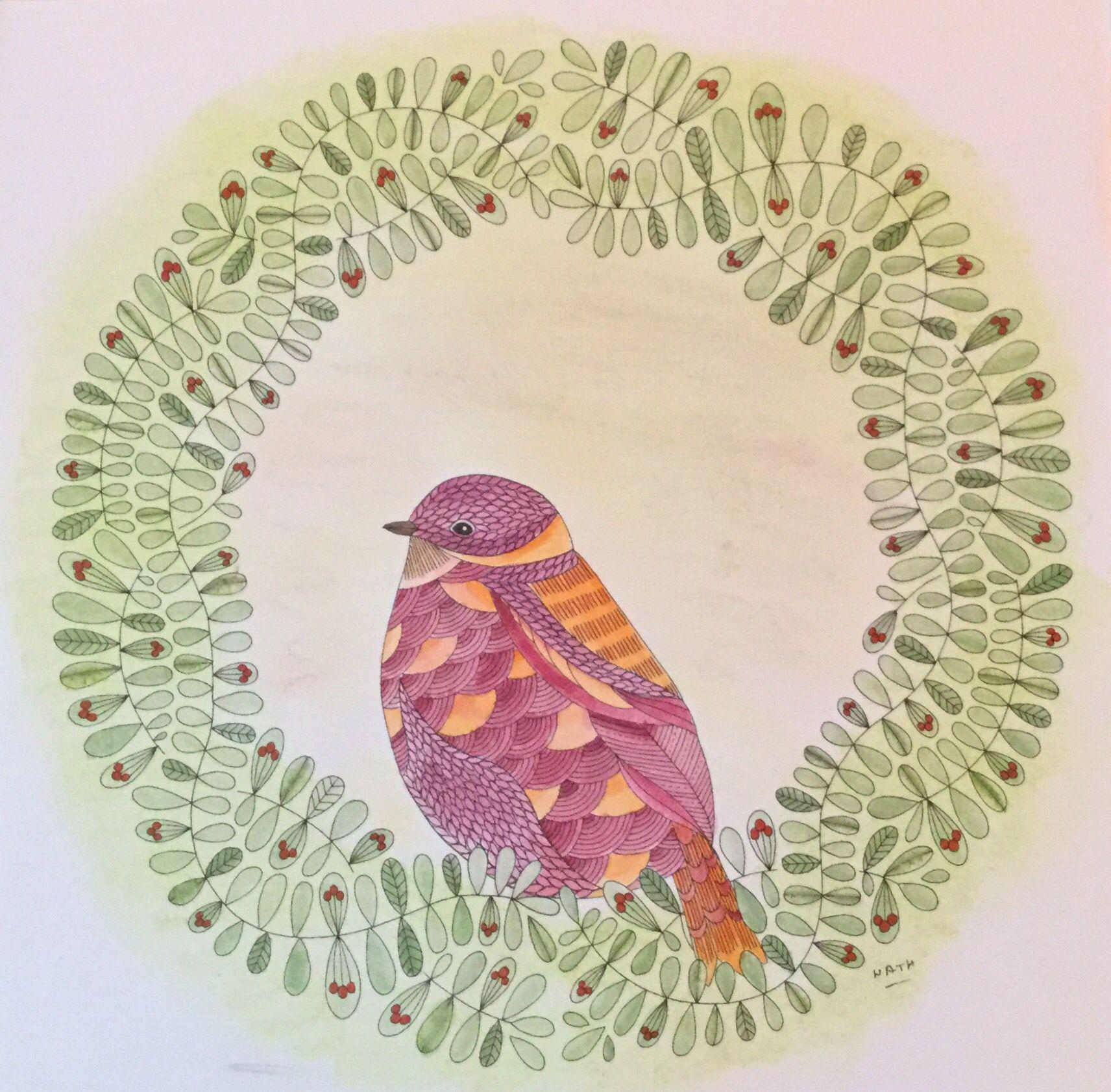 My Colouring Millie Marotta Animal Kingdom Bird