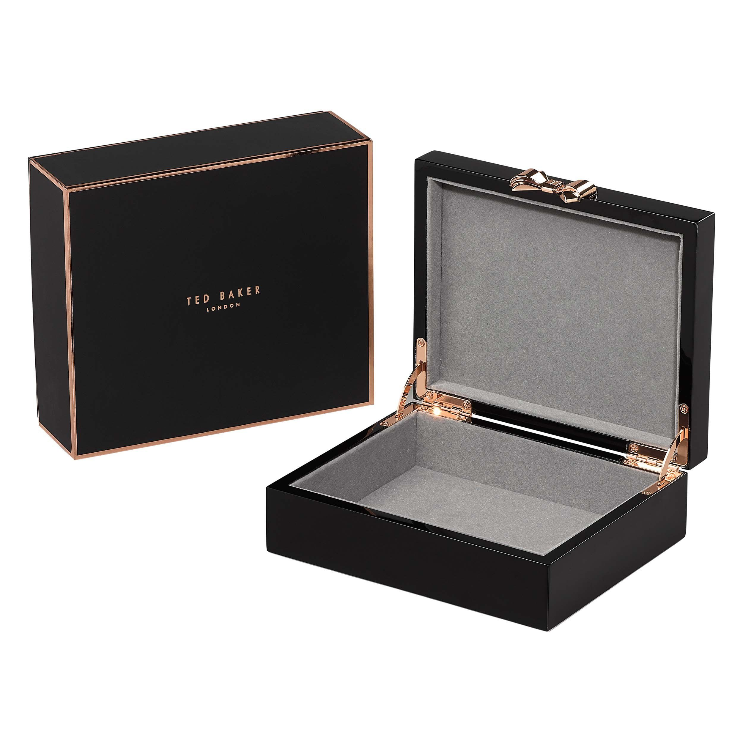 Black Lacquer Jewelry Box by Ted Baker | packing | Jewelry