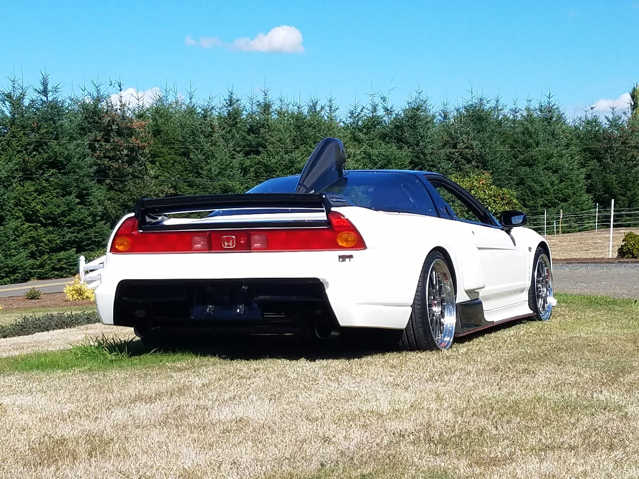 NSX 1991 Honda NSX R GT replica imported from Japan. For