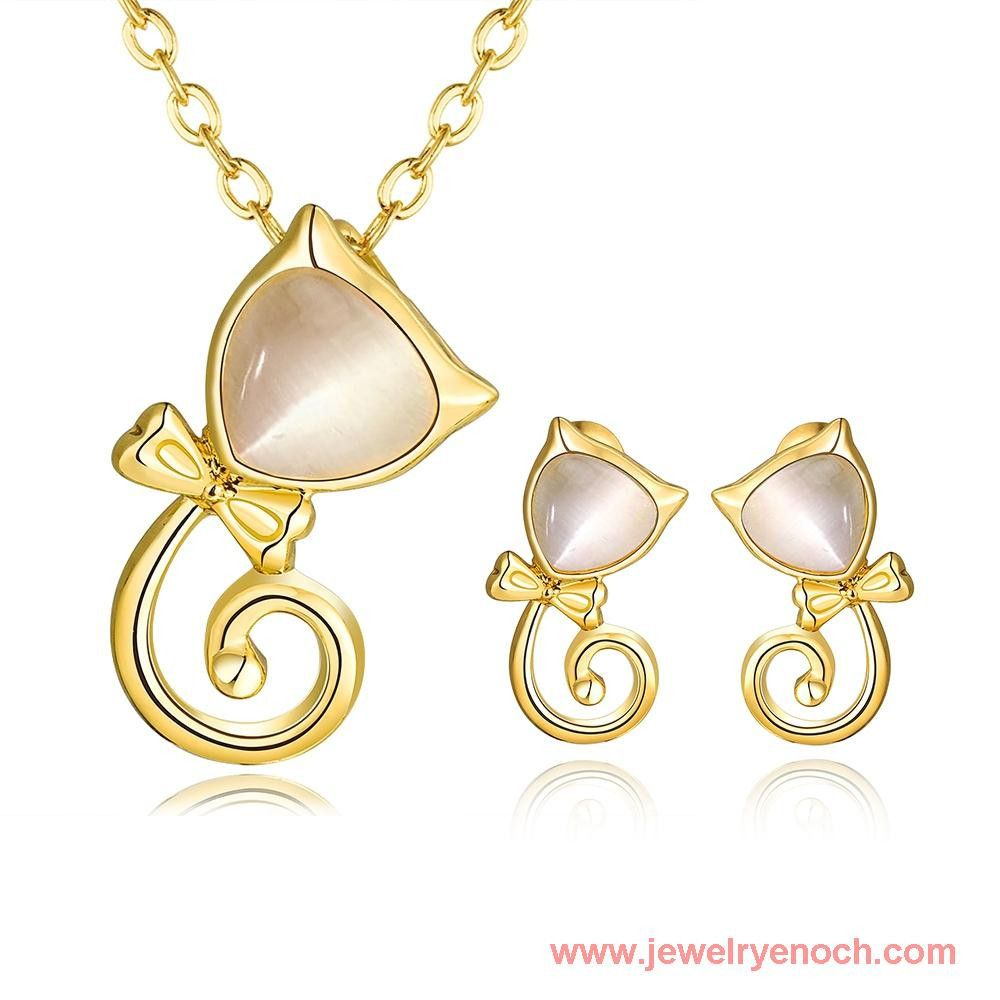 Attractive Handmade Mounting Opal Alloy Gold Jewelry Wholesale 18k