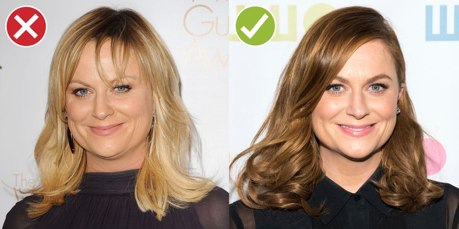 6 Ways Your Hair Is Making You Look Older Older Hair Oval Face Bangs Whispy Hair