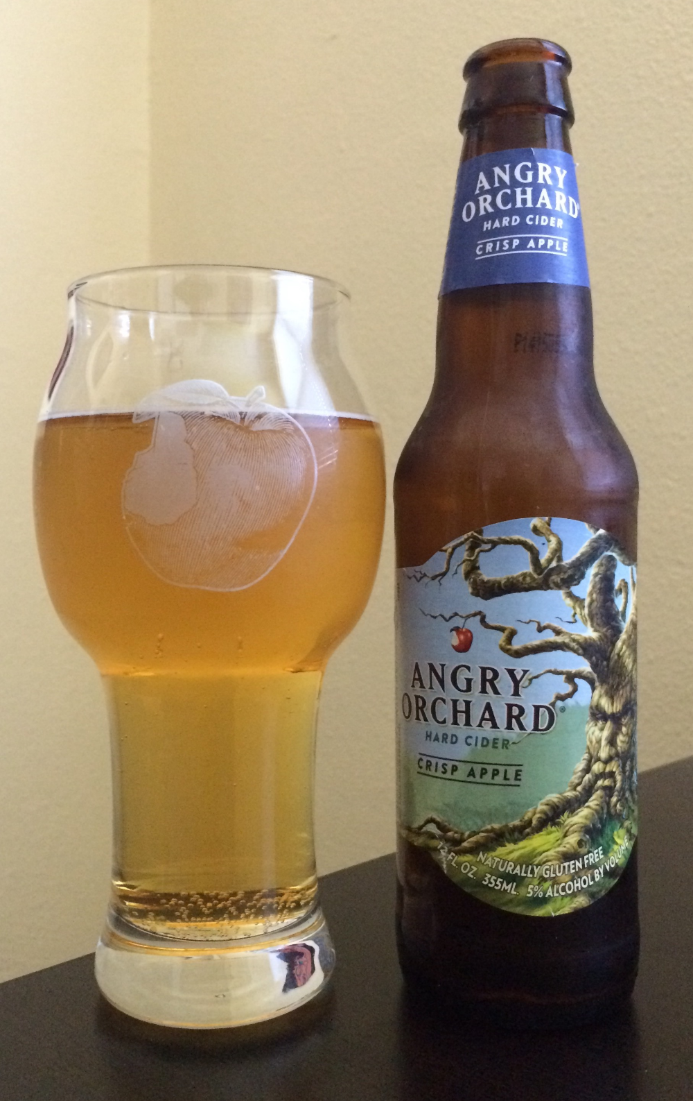A New Glass From Angry Orchard Designed ... | Angry ...