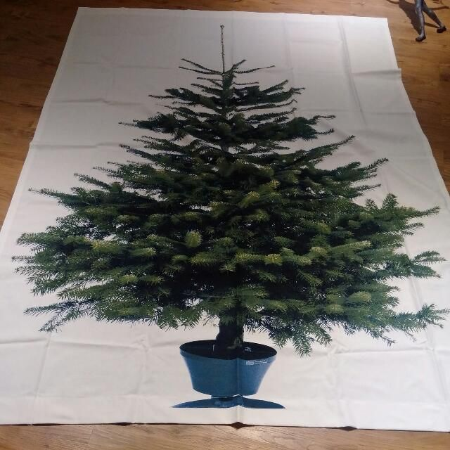2m X 1 48mcomes With Everything You Need To Hang It On The Wall 1 120 210cm White Rod 2 Tree Tapestry Traditional Christmas Tree Buy Christmas Tree