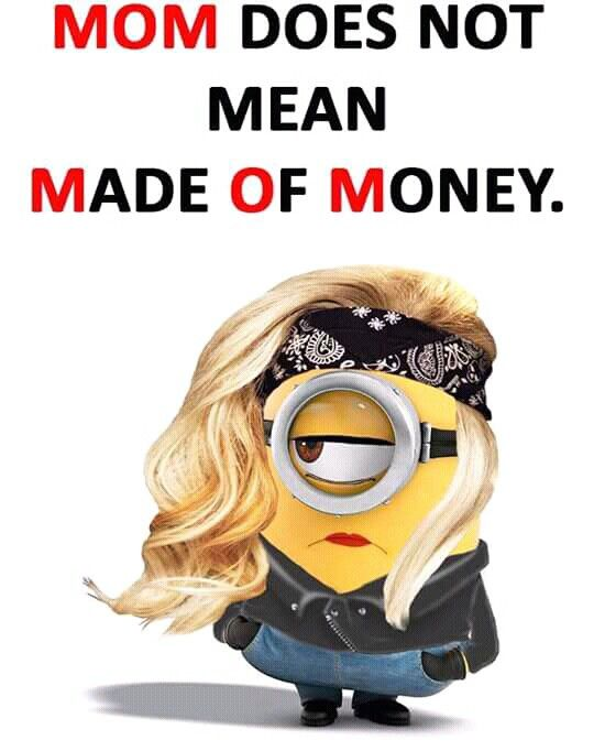 Minions Quotes, Minion Sayings, Funny Sayings, Funny Minion, Minion Jokes,  Minion Mayhem, Band, Mom Quotes, Qoutes