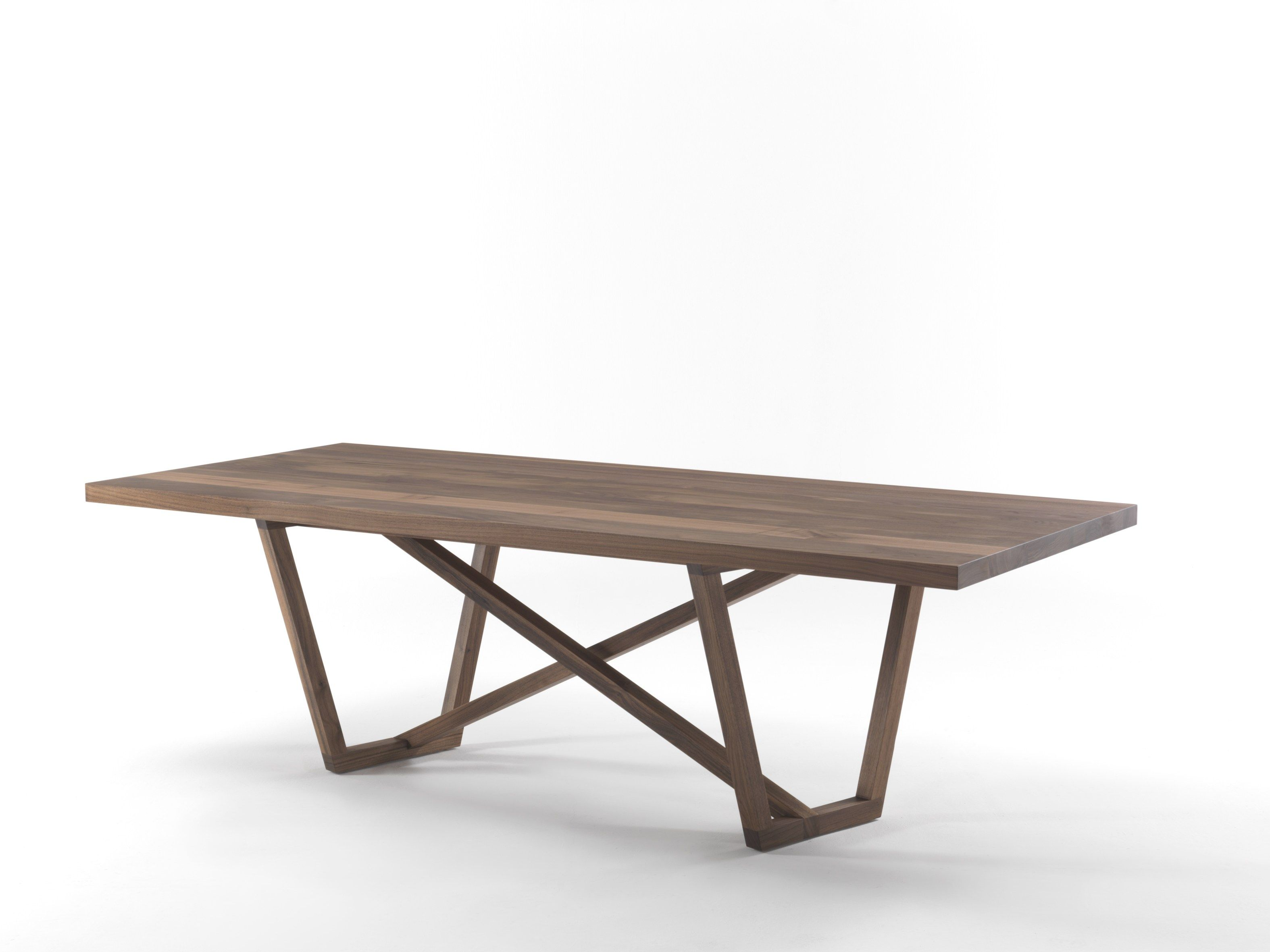 Rectangular wooden table TRAVERSO by Riva 1920 | design Giovanna ...
